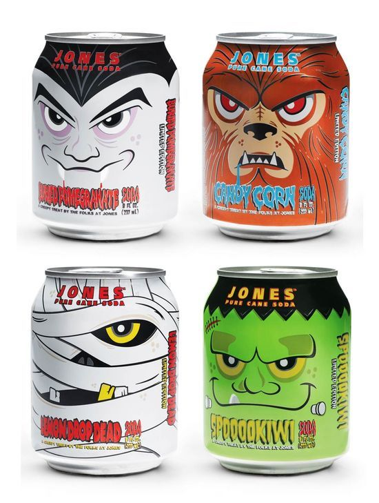 Halloween Soda Cans 2020 Pin by LOZART on 黑木耳新視覺 in 2020 | Creative packaging design