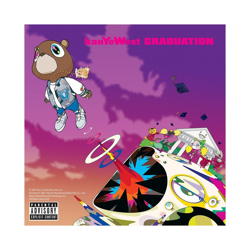 Kanye West Graduation Music Album Cover Kanye West Kanye West Graduation