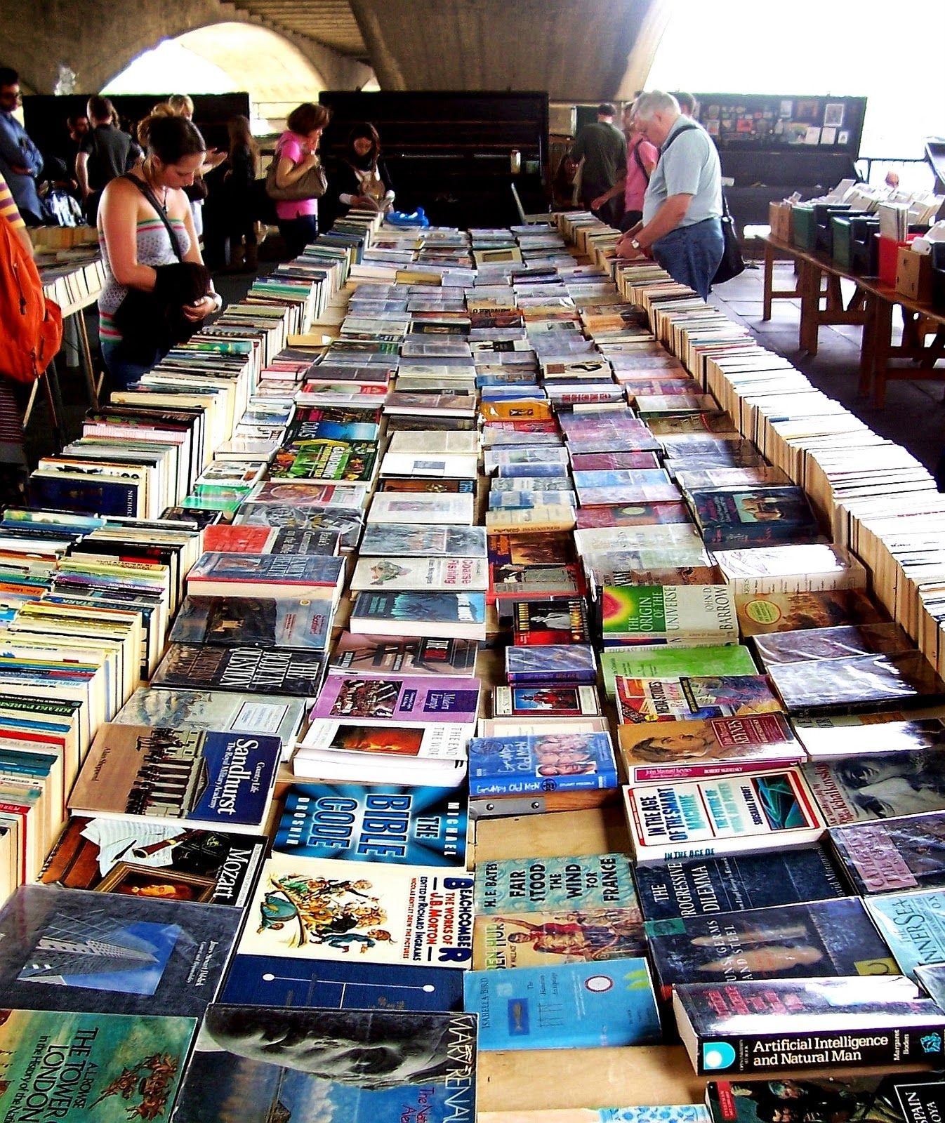 South Bank Book Market, London