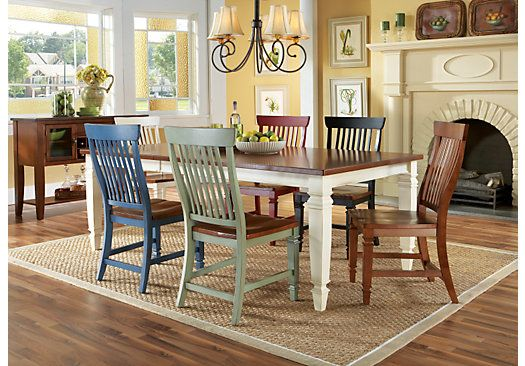 California Cottage Dining Room Set 899 99 Rustic Dining Furniture Dining Room Sets Dining Furniture Makeover