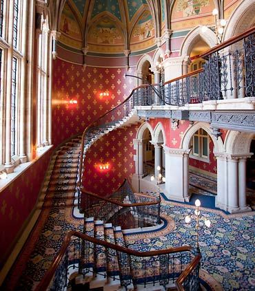 Grand Staircase St Pancras London Hotels Renaissance Hotel Hotel