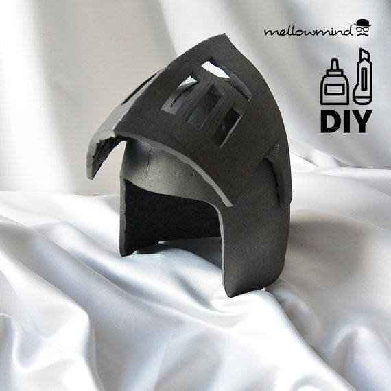 DIY Knight Helmet Template for EVA foam - version B | Vitezovi ...