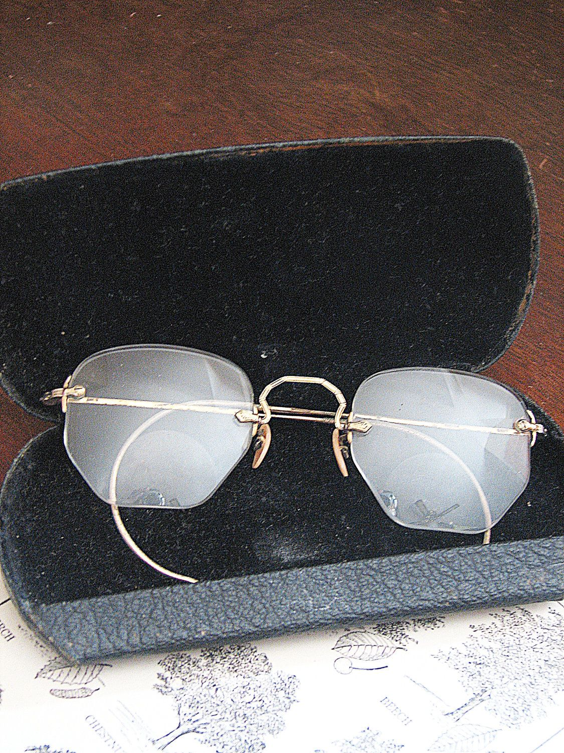 Items similar to SALE Eyewear Glasses Frames Very Old Vintage on Etsy