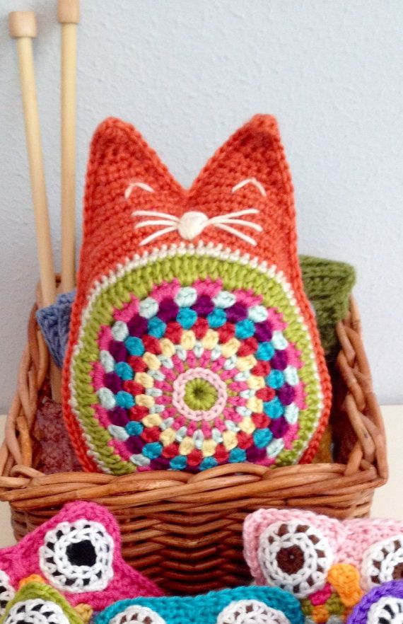 Comfy Cat Pattern Snuggie Instant Download Crochet Pattern Toy ...