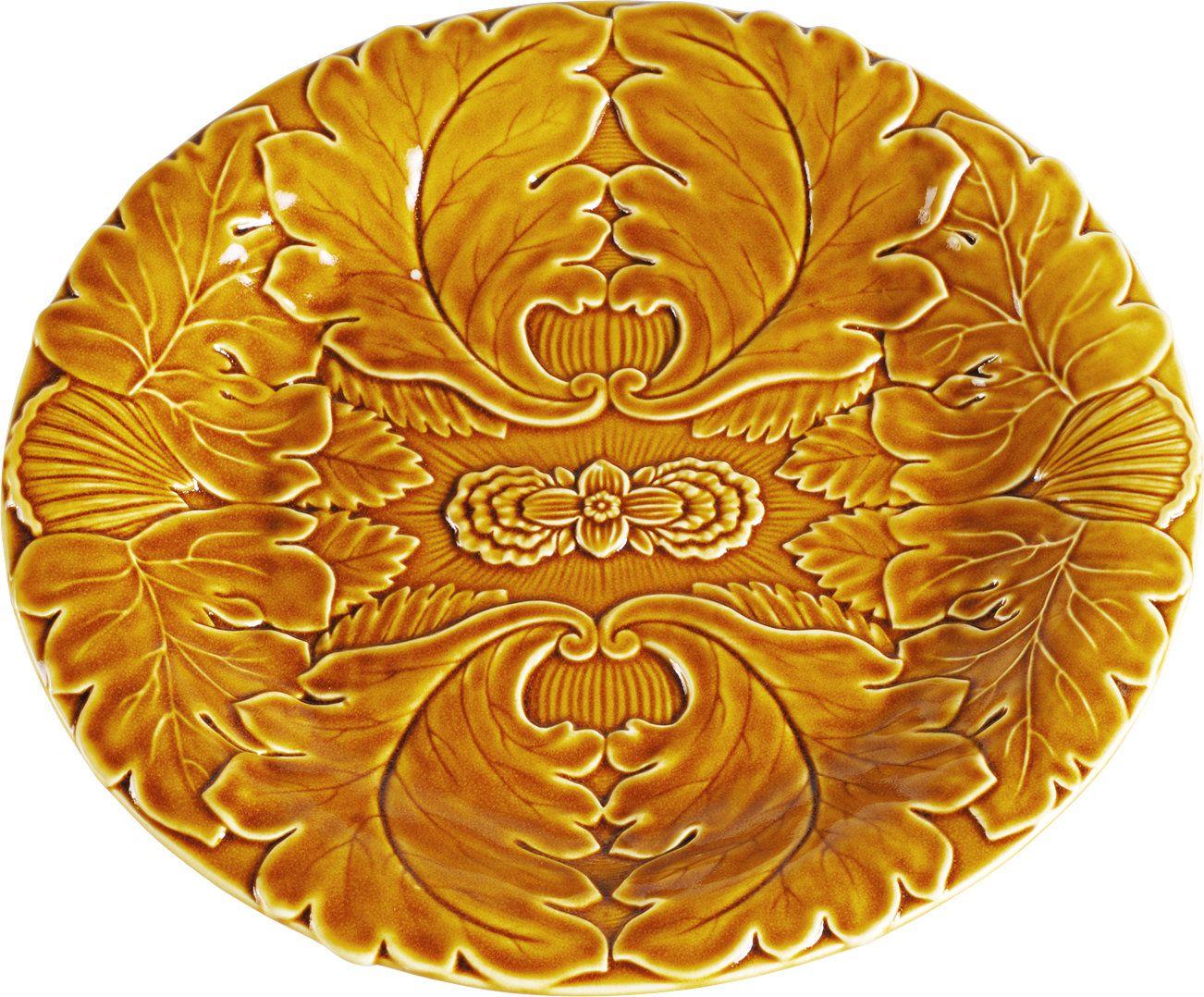 "Leaf 10"" Decorative Plate (Set of 4)"