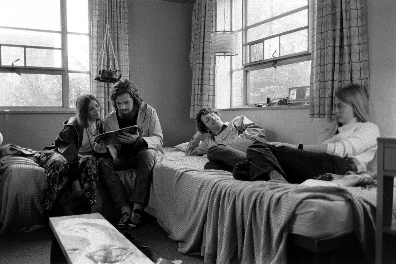 Oberlin College Co Ed Dorm, 1970 Part 44