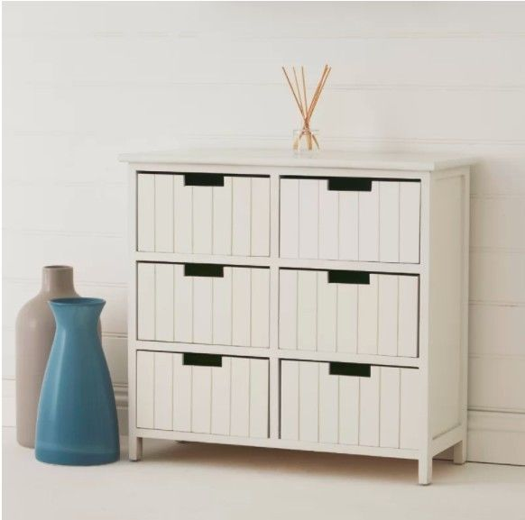 Best Details About Wooden Vintage Sideboard White Rustic 400 x 300