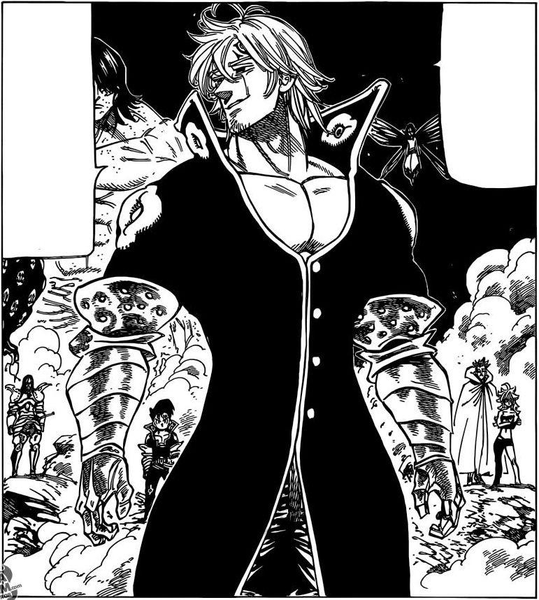 Nanatsu no Taizai manga 177 | Estarossa.