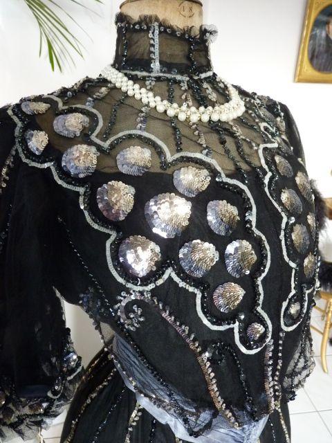 Stunning Ball Gown, ca. 1904