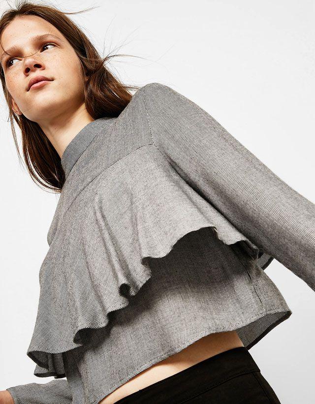 Ose porter les chemises pour femme de l'automne-hiver 16 de Bershka:
