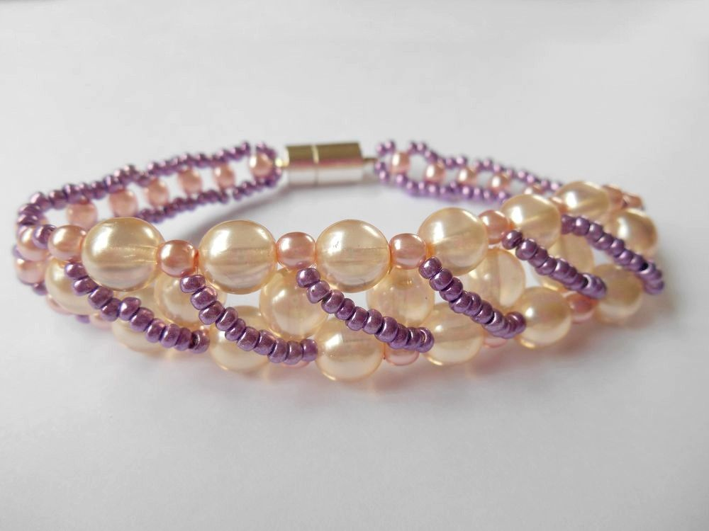 bracelet perle rocaille tuto