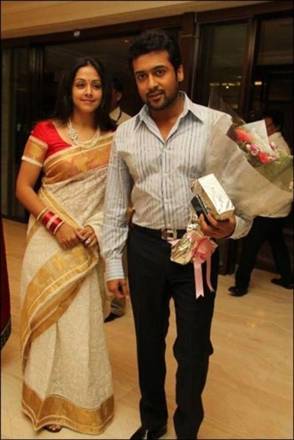 Suriya With his Wife Jyothika | Kollywood | Pinterest ...
