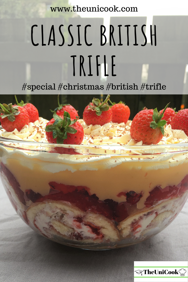 Easy Fruit Layered Trifle | Traditional British Recipe