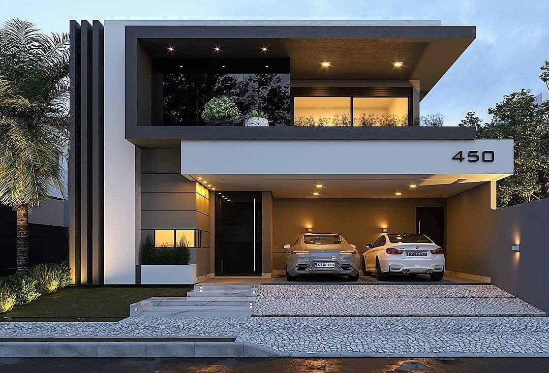 Amazing House Design Ideas For 2020 Em 2021 Fachadas De Casas Casa De Arquitetura Fachadas De Casas Modernas