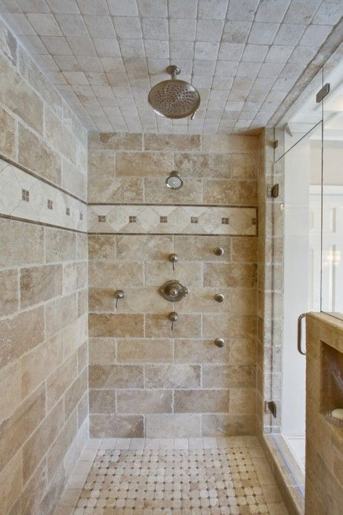 Love the tile work! I doubt I'll have room for a shower