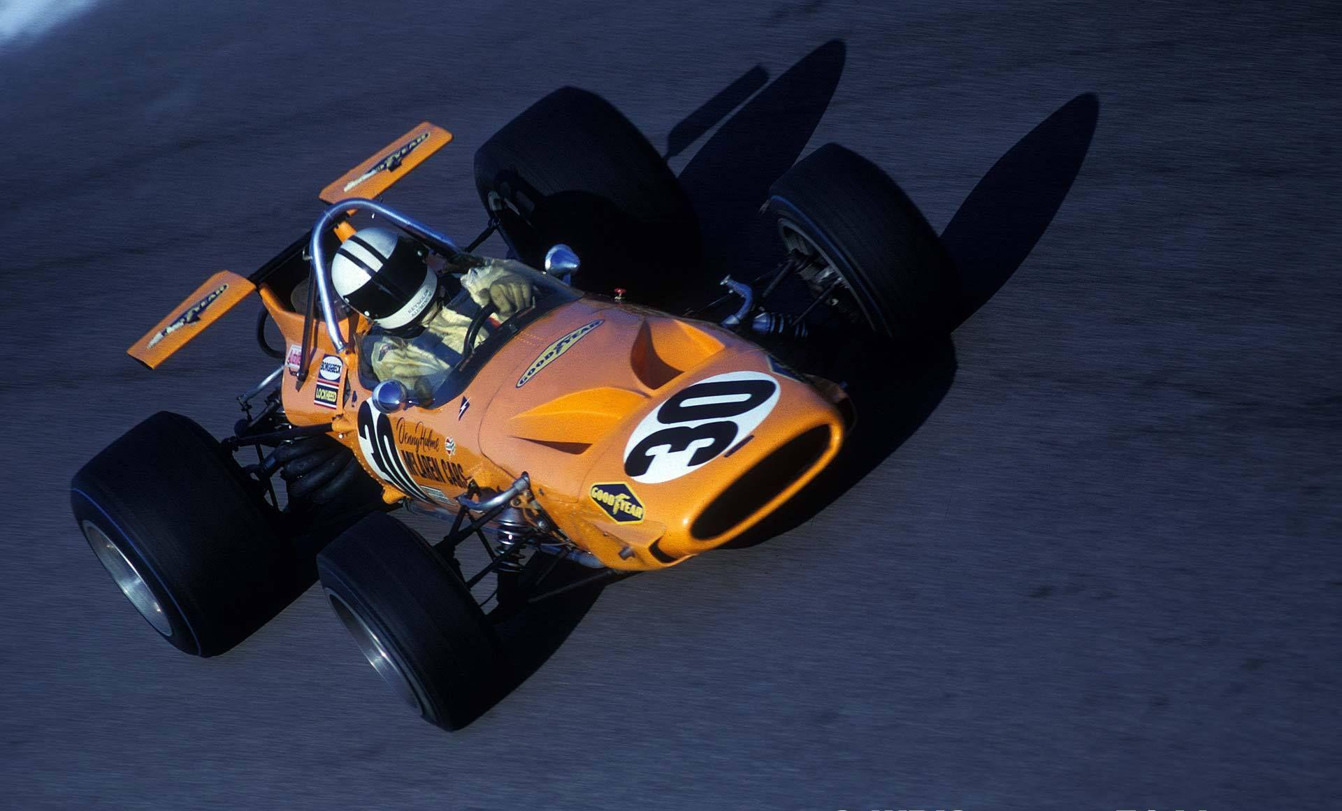 Denny Hulme - McLaren M14A - 1970 - Italian GP (Monza ...
