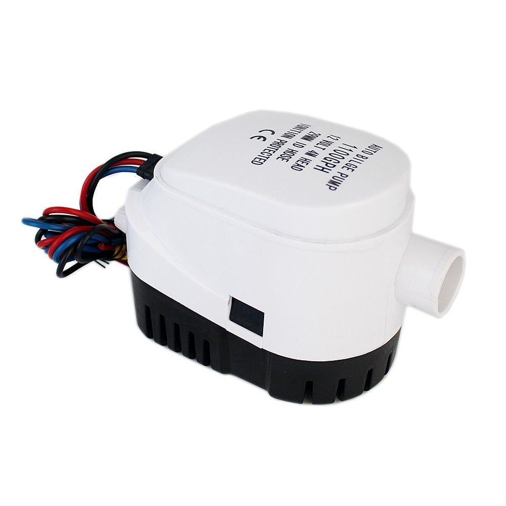 750gph Dc 12v 24v Automatic Bilge Pump For Boat With Auto Float Switch Submersible Electric Water Pump 12 24 V Volt With Images Electric Water Pump Submersible Water Pumps