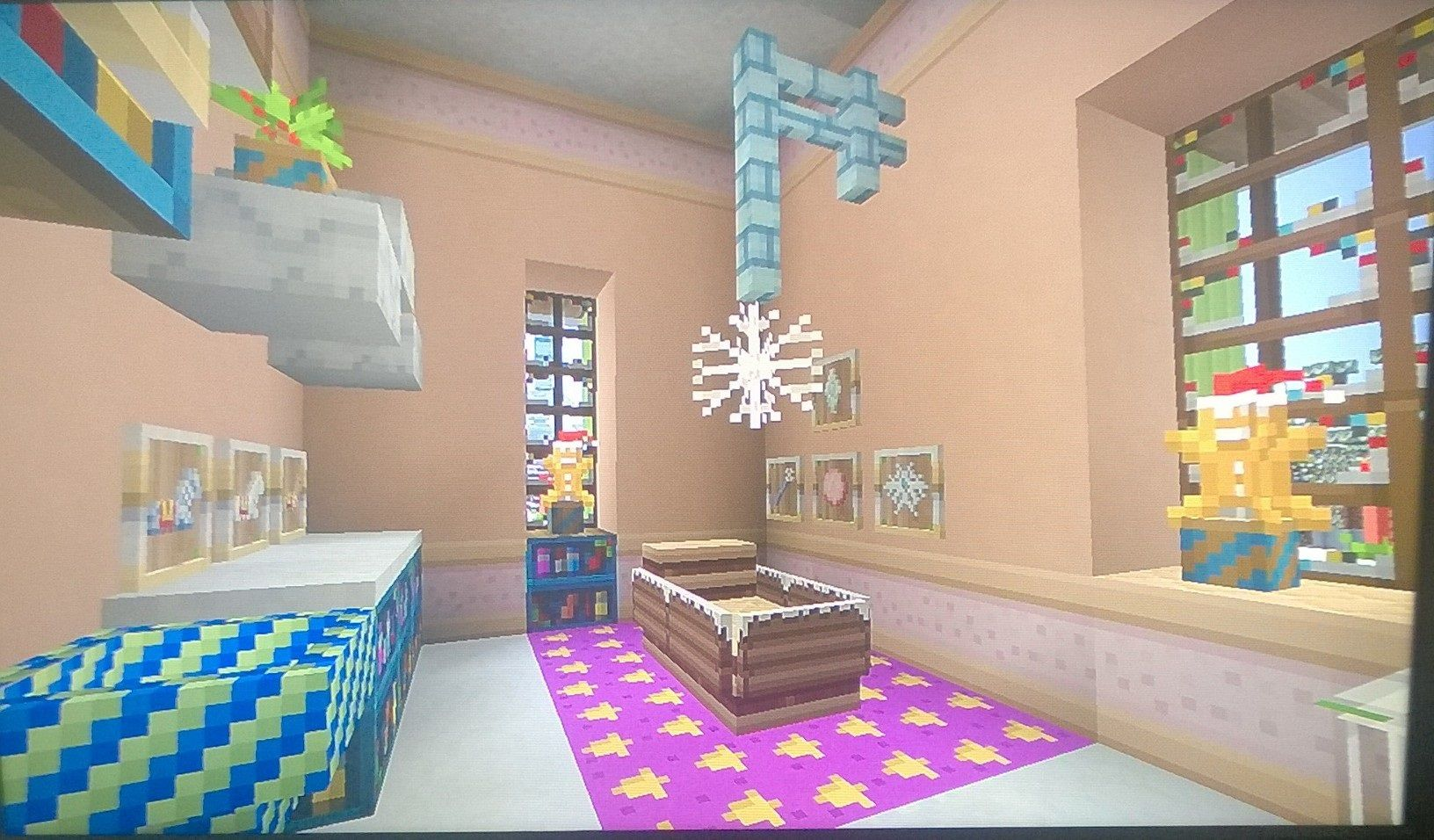 minecraft Baby's room Minecraft baby, Minecraft room