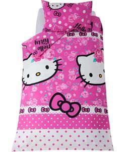 Hello Kitty Sommerwind Rotary Children's Bedding Set-Single.