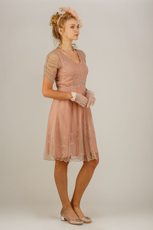 Nataya romantic occasion dress al quartz titanic dress