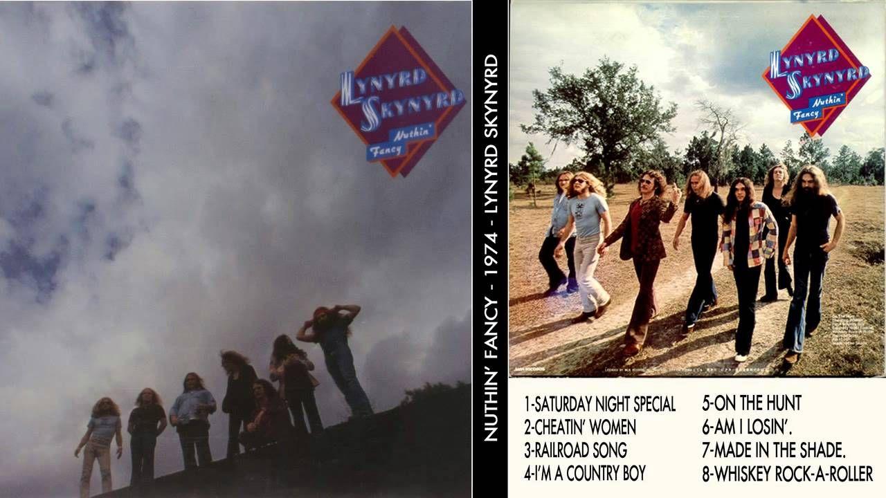 Lynyrd Skynyrd Nuthin Fancy Back Cover