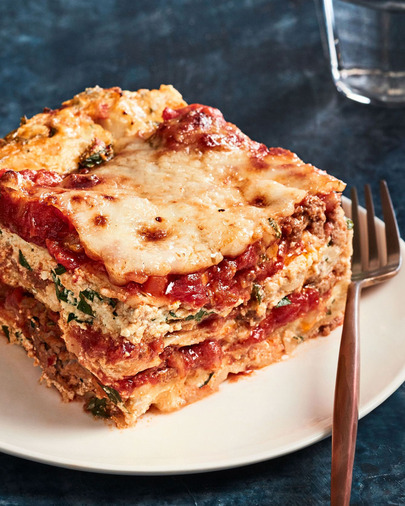 Lasagna With Meat Sauce Recipe Ultimate Lasagna Recipe Food Recipes Lasagna Recipe