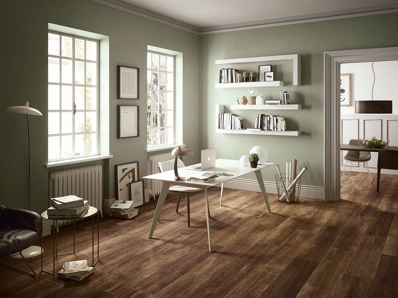 Arredamento Con Pavimento Marrone gres porcellanato effetto legno rustico serie lodge | colore