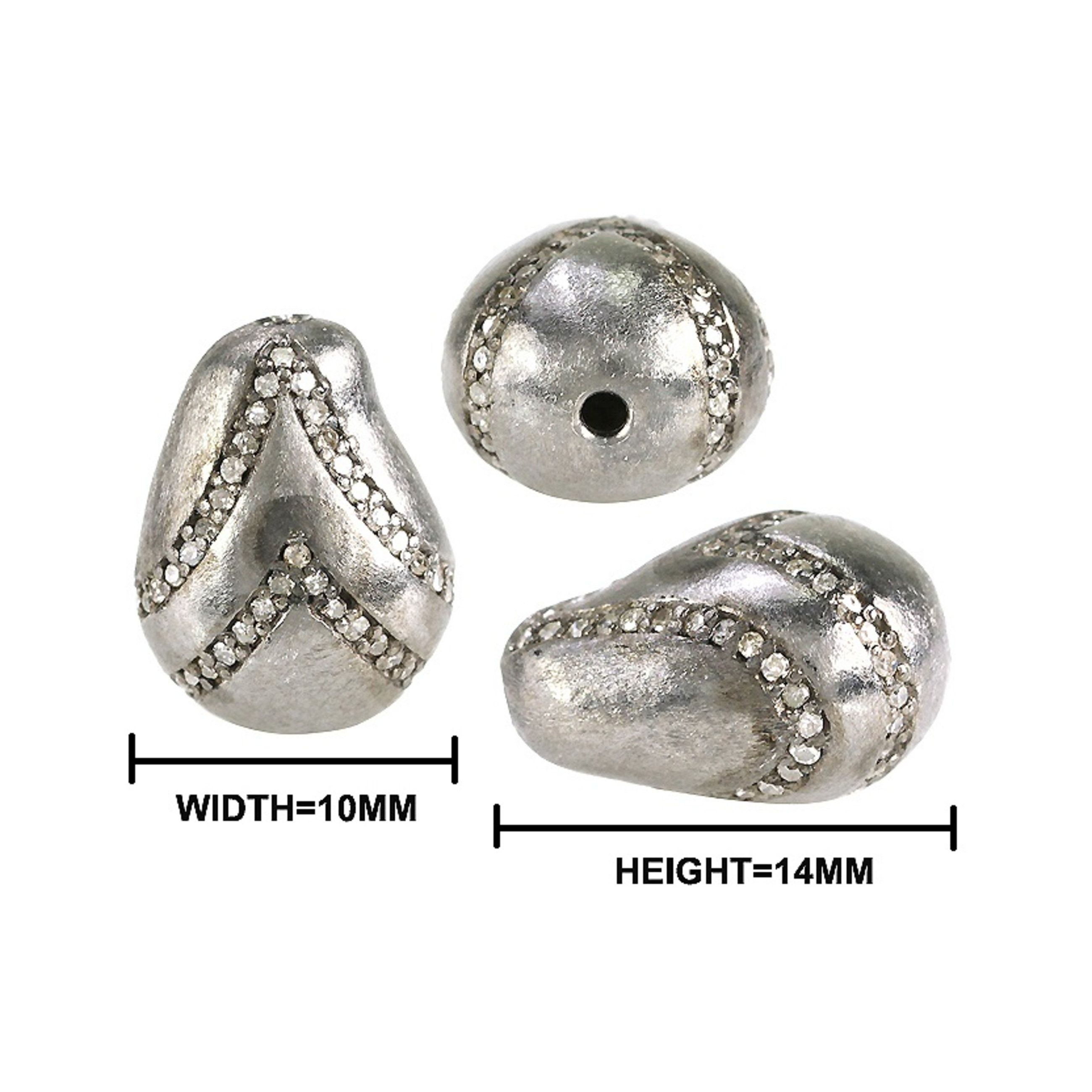 21++ Pave diamond beads for jewelry making ideas in 2021