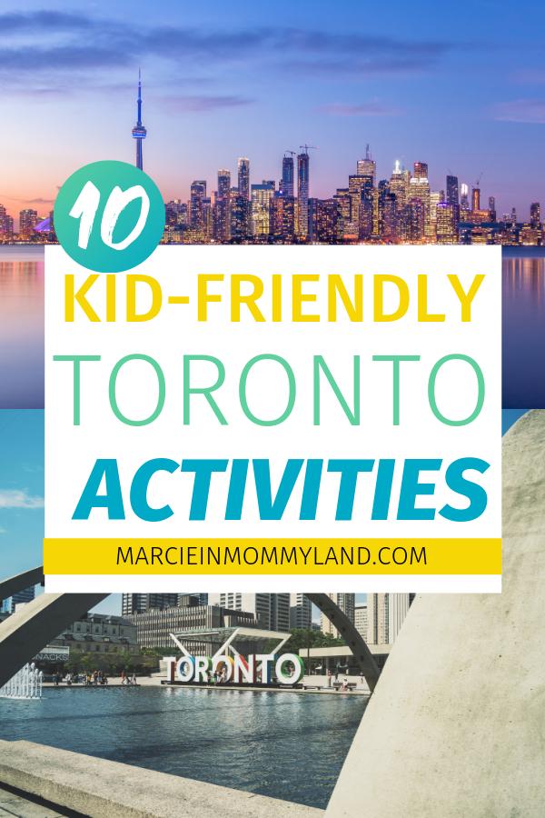 Top 10 Kid Friendly Toronto Canada Activities Activities Canada Kidfriendly Top Toron In 2020 Canada Travel Canada Vacation Family Travel