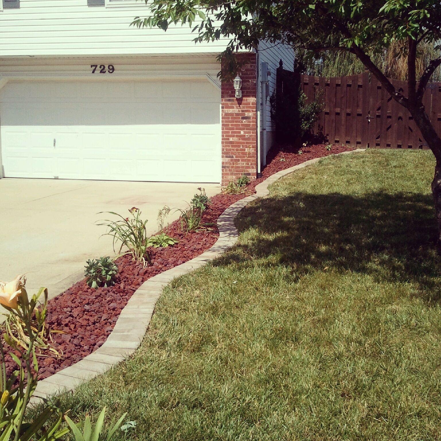 Diy Easy Front Yard Landscaping Ideas: Diy Landscaping Remodel Along The Driveway @NoeliaMaria