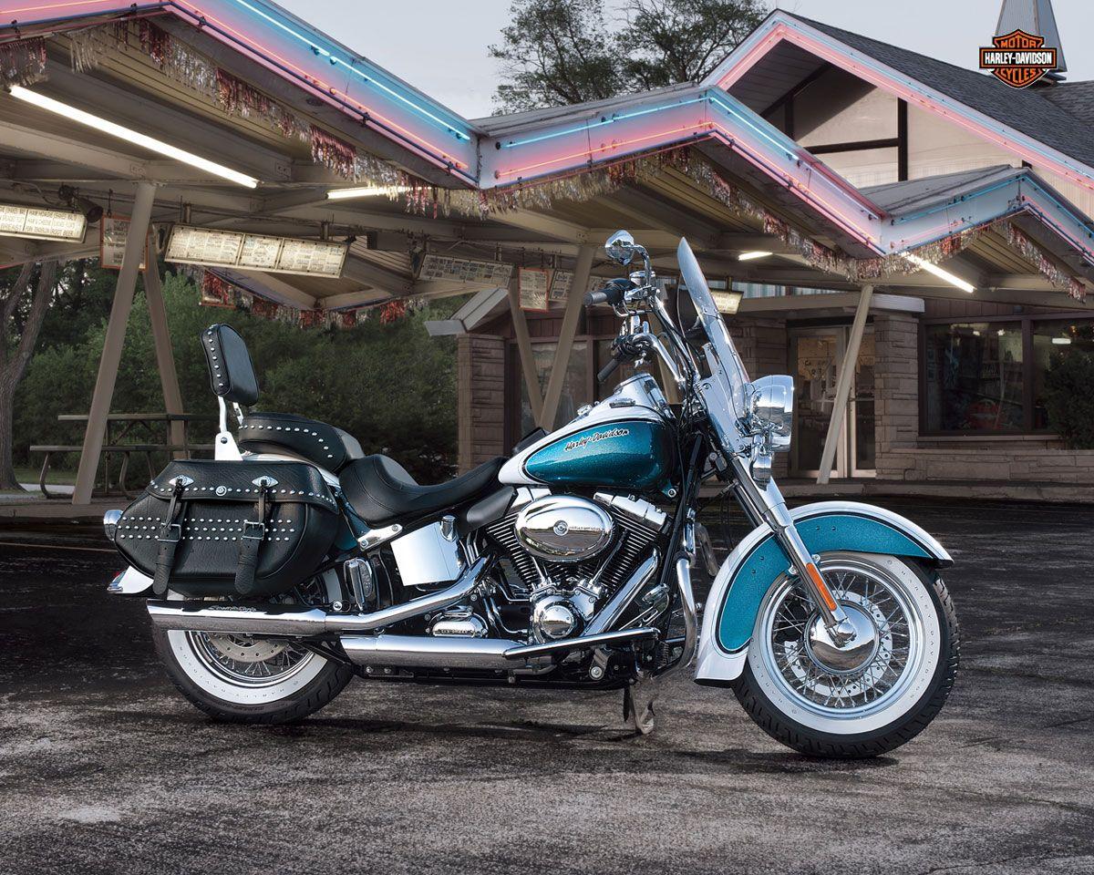 Harley Davidson Heritage Softail Classic 110th Anniversary Harley Davidson Motorcycles Harley Davidson Wallpaper Harley Davidson