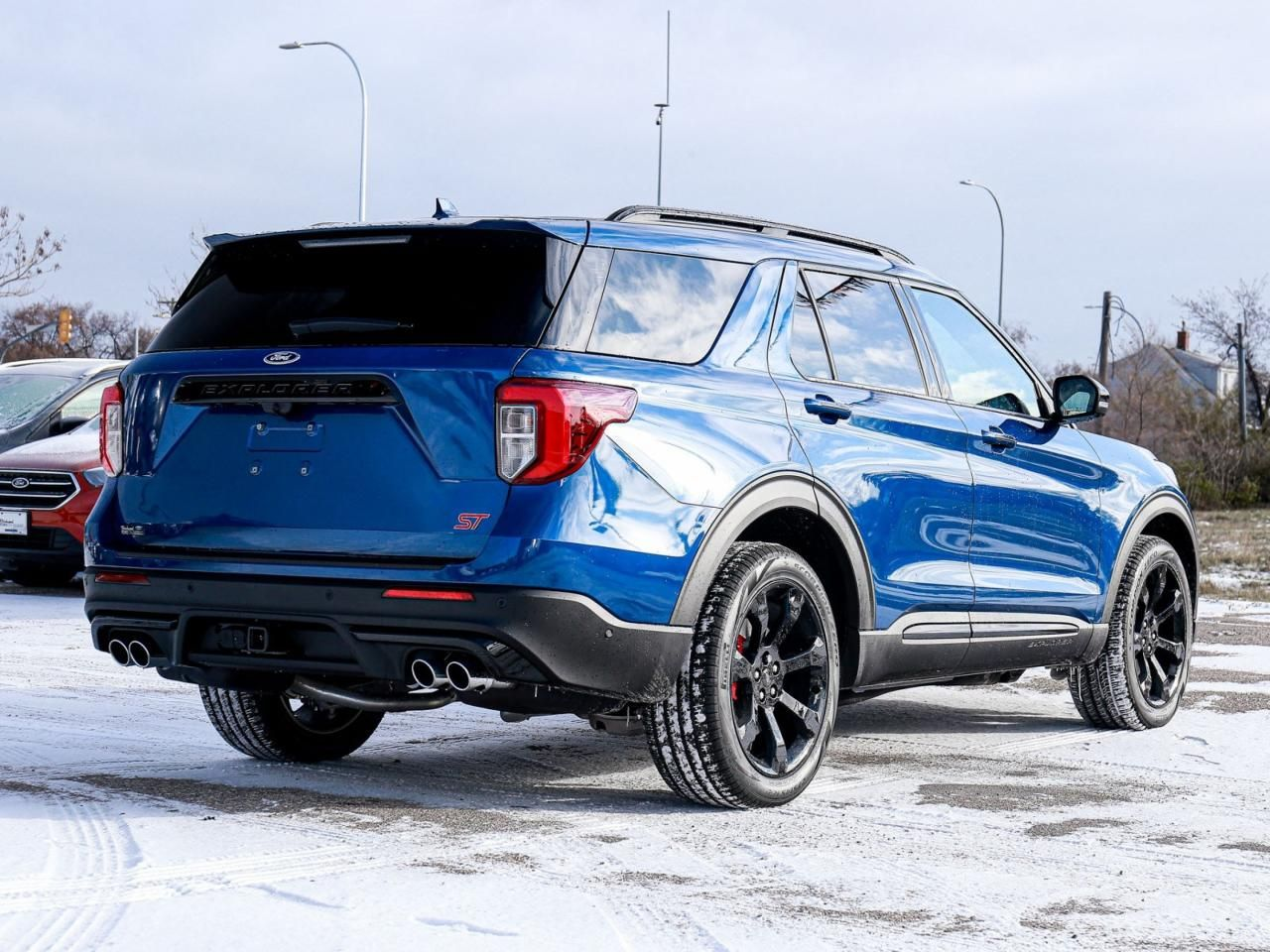 Used 2020 Ford Explorer St 400a Premium Tech St Street Pkg S