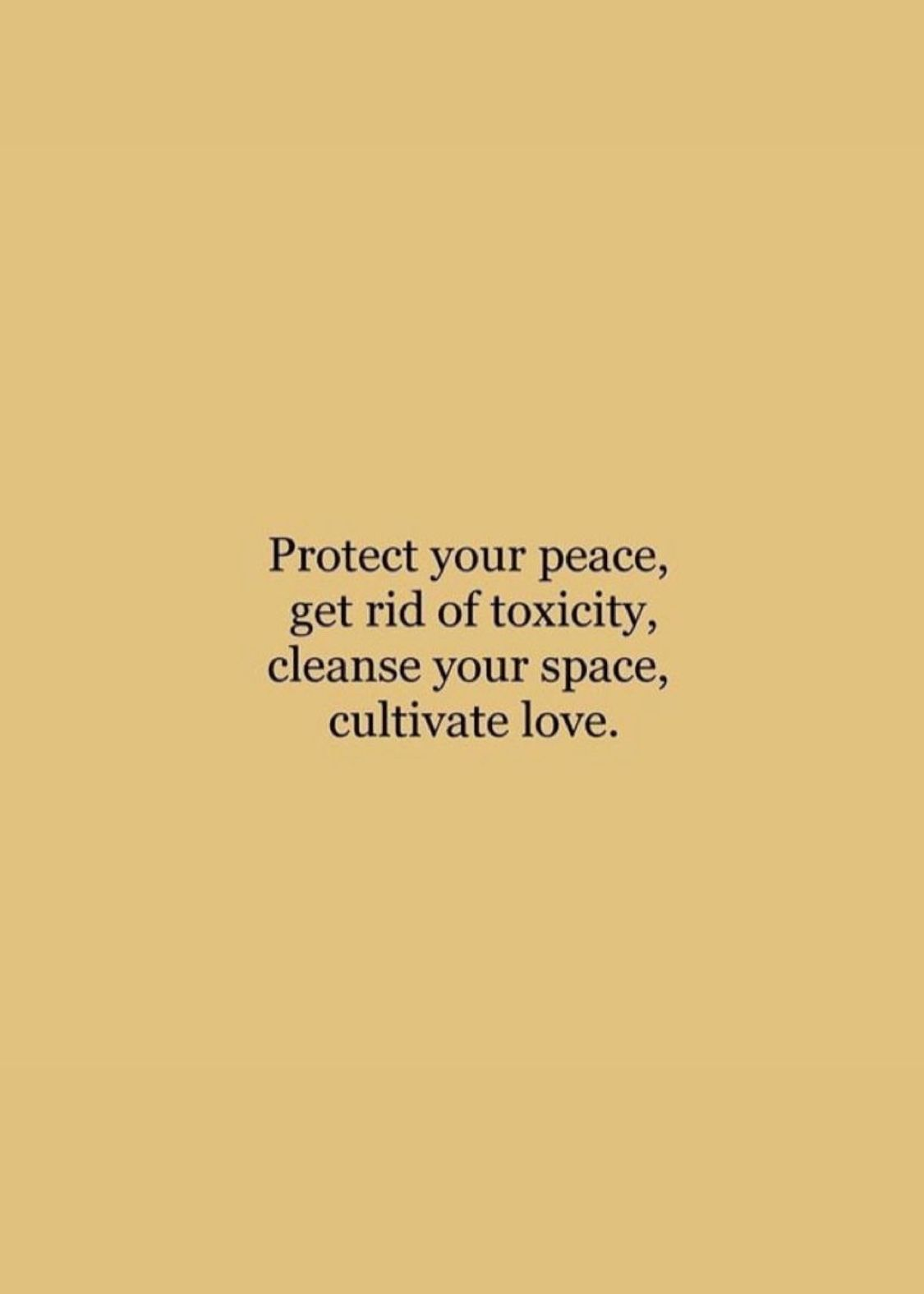 Protect Your Peace Get Rid Of Toxicity Cleanse Your Space