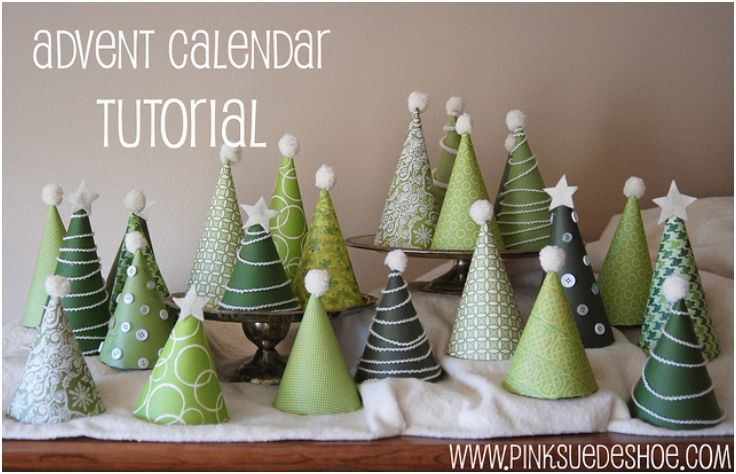 Top 10 Diy Mini Christmas Trees From Paper Top Inspired Homemade Advent Calendars Christmas Tree Advent Calendar Christmas Advent