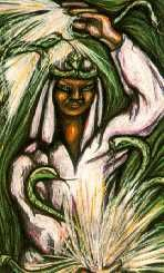 ABOVE Physical World Influences Simbi - Rada  Bad news, crises, conflict, sickness. Magick used but overdone for a lowly means. The situation calls for simpler actions. It has been overdone. The results are unstable. Work to rectify