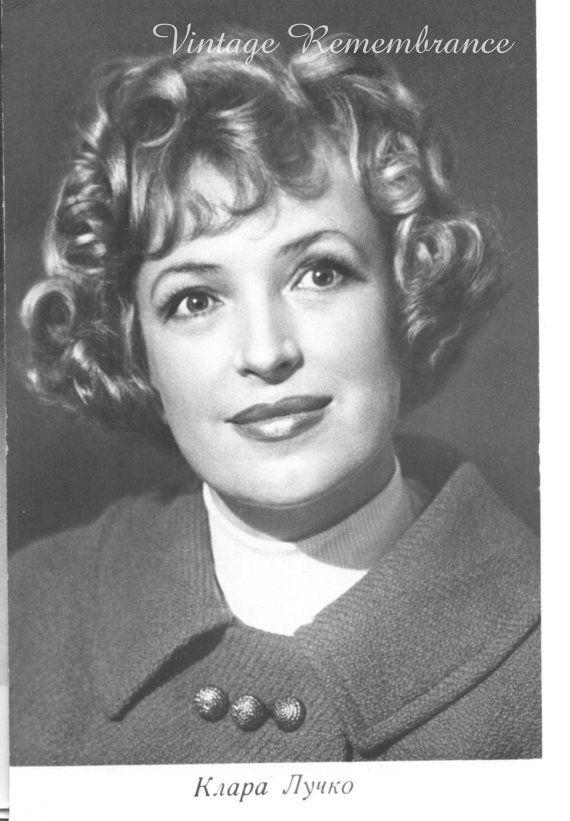 Vintage postcards movie stars