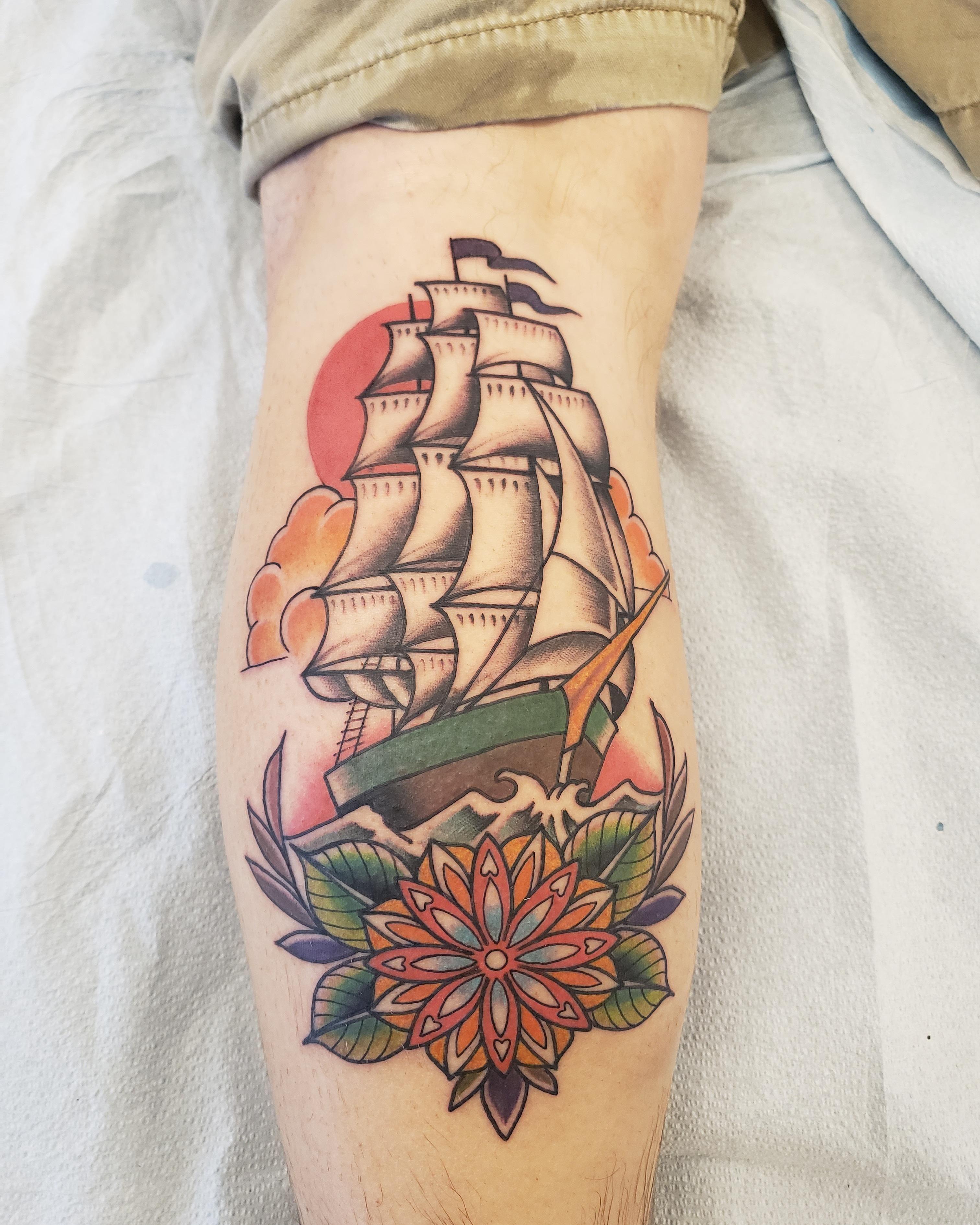 First tattoo artist english cousins location nashville