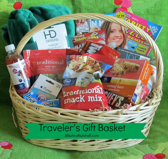 Great Road Trip Ideas: A Travelers Gift Basket- Great Ideas For Someone Planning