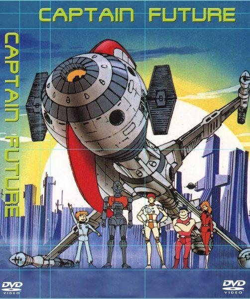 Marke Eigenbau:  Da Captain Future nicht nur ein Actionheld, sondern auch ein... #comicsandcartoons