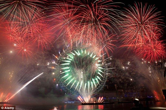 London has been revealed as one of the world's most expensive destinations to celebrate New Year's Eve