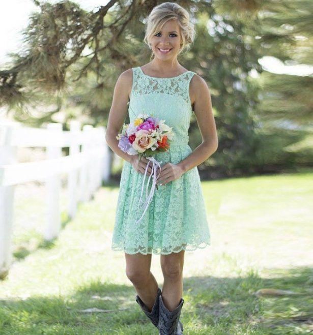 short country wedding dresses | The Wedding Etc | Pinterest ...