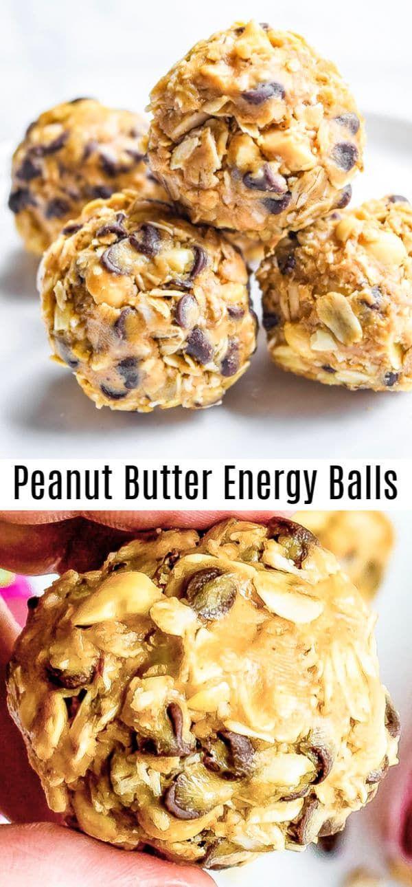 Peanut Butter Energy Balls | Home. Made. Interest.