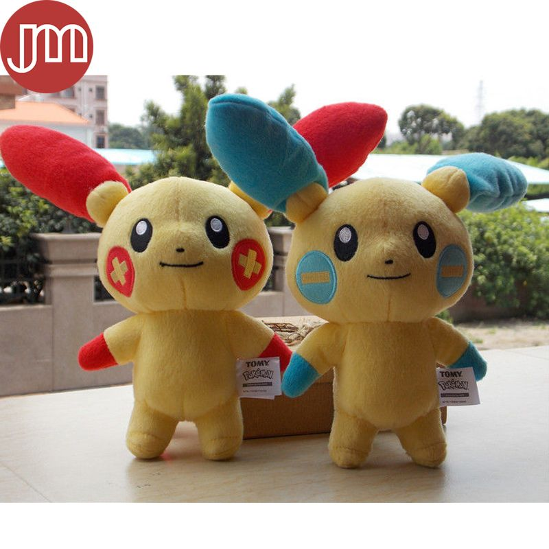 af7c5ad5cc2 Find More Movies   TV Information about New Pokemon Plusle Minun Plush Toy…