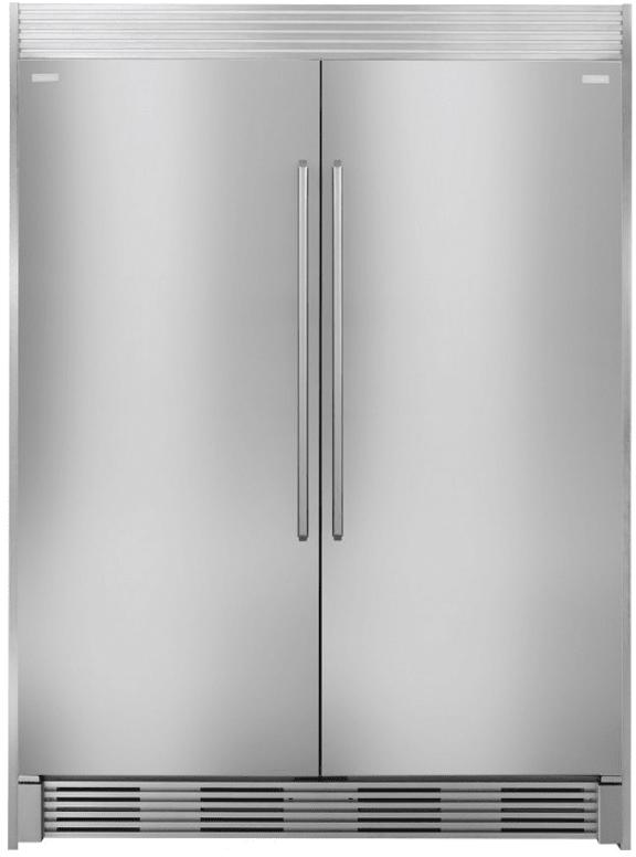 Electrolux 64 Inch Side By Side Refrigerator Freezer Set With Ei32ar80qs 32 Inch Built In Right Hinge Refrigerator And Ei32af80qs 32 Inch Left Hinge Freezer Column Refrigerator All Refrigerator Refrigerator Freezer