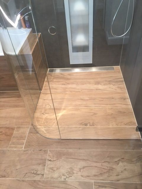 Badkamer tegels atlas concorde etic pro noce hickory keramisch ...