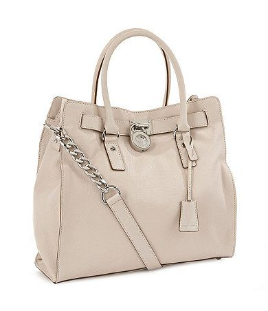 Michael Kors Hamilton large NorthSouth Tote   Available at Dillards.com #Dillards