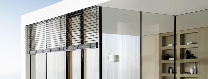 raffstore von josko verdeckter einbau elektrisch. Black Bedroom Furniture Sets. Home Design Ideas
