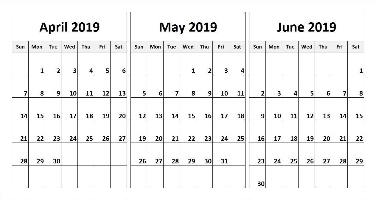 2019 Quarterly Calendar Printable Download September Calendar