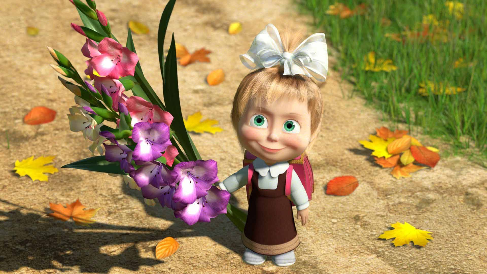 Masha And The Bear Masha Pinterest Flower And Wallpapers