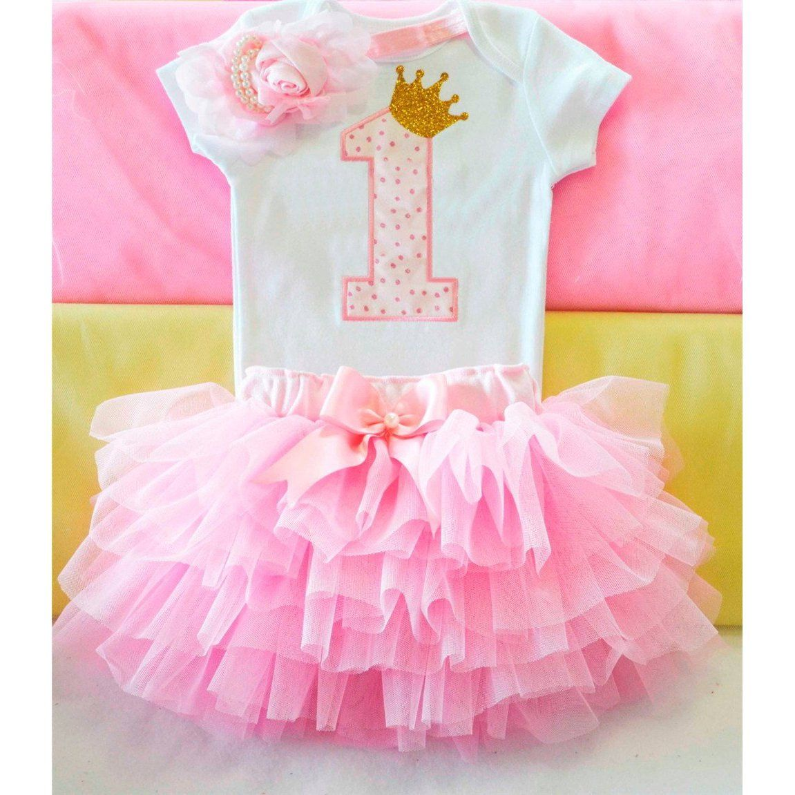 Baby girls 1st birthday tutu outfits in 2019 baby girl